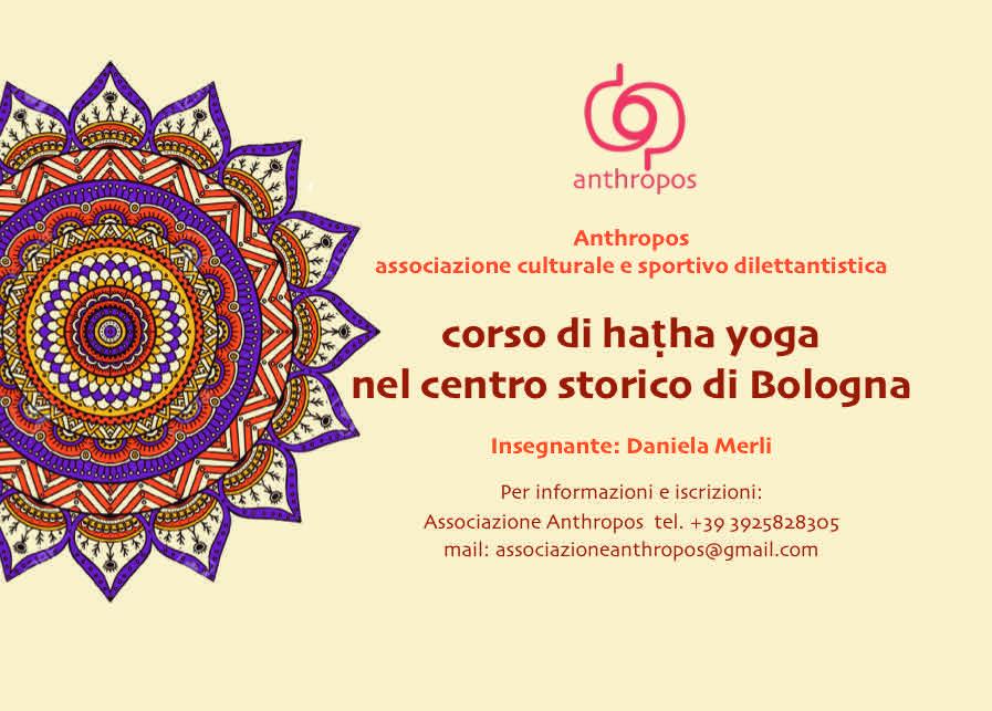 Corsi haṭha yoga Bologna - Anthropos Bologna